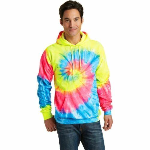 Tie Dye Rainbow Espiral Para Hombre Talle S-xl 2xl 3xl Con Capucha Sudadera Con Capucha Nuevo Con Capucha