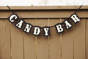 CANDY-BAR-Signe-Bunting-Banner-Fetes-De-Mariage-Decoration-Buffet-De