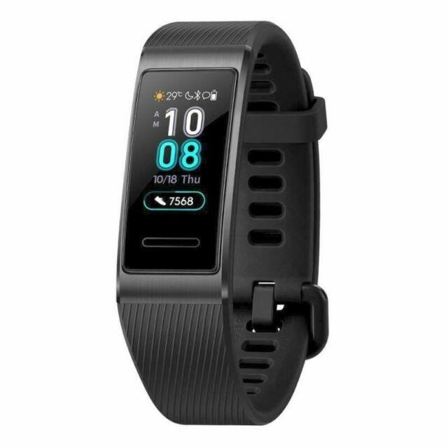 Huawei Band 3 Pro TER-B19 Sports Band Schwarz Android GPS mit Herzfrequenzmesser