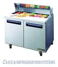"Sun Ice 48"" Commercial Salad & Sandwich Refrigerator Prep Table Cooler SUNST-48"