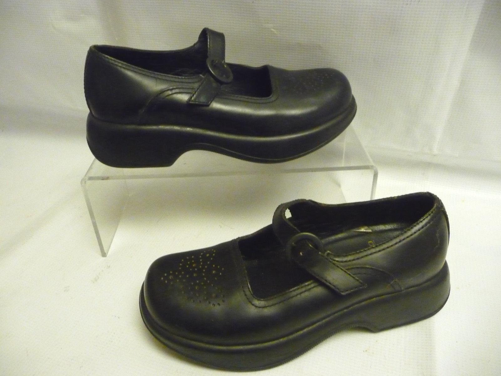 consegna veloce DANSKO Donna  nero scarpe Sz 38 8 8 8 Buckle Strap Leather Mary Jane Portugal  vendita online