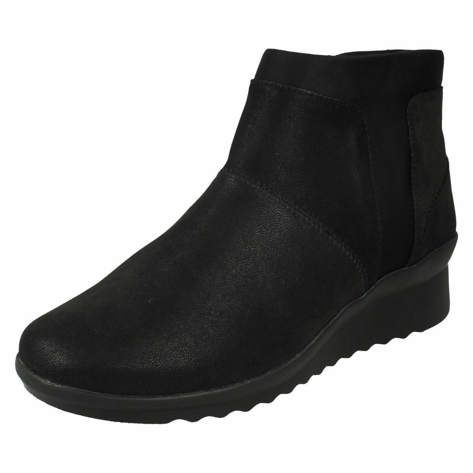 women Clarks Cloudsteppers Caddell Sloane Bottes Cheville Décontractées - - - f38f0f