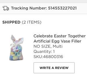 Artificial Egg Vase Filler Easter Holiday Decoration