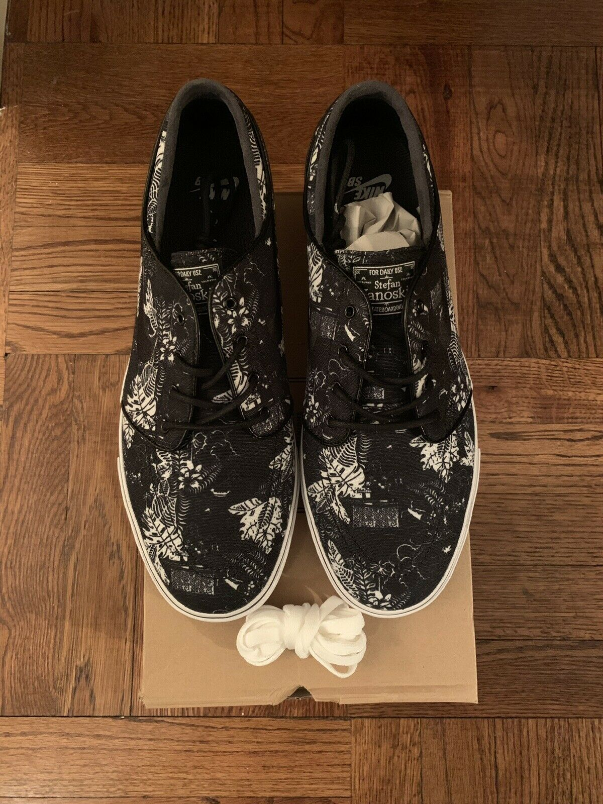Nike SB Stefan Janoski Black Floral 11.5 US Brand New DS Concepts Dunk Lobster