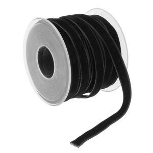 20Yard-Vintage-Black-Velvet-Ribbon-Soft-for-Wedding-Decoration-DIY-Supplies