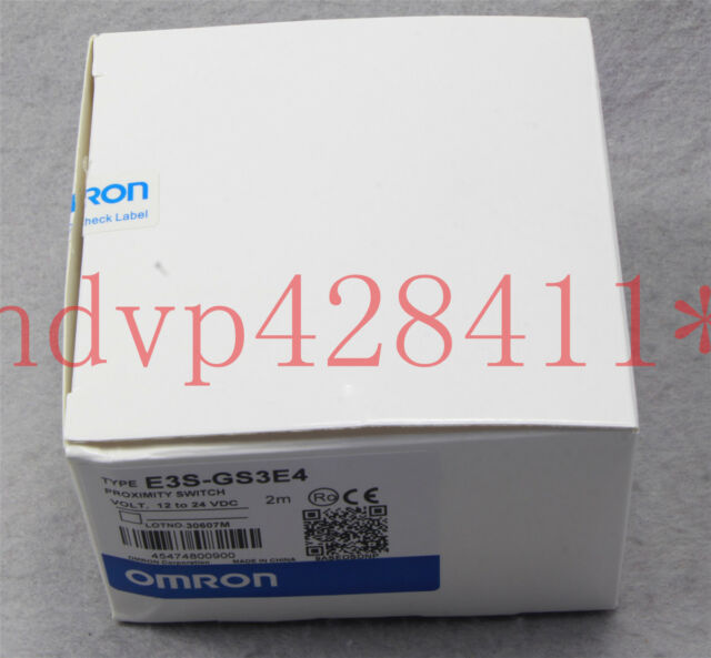 New Omron E3S-GS3E4 photoelectric switch