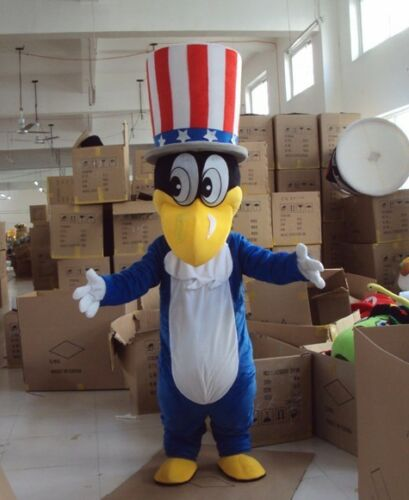 Details about  /Duck Mascot Costume Party Cartoon Magician Fancy Animals Character Parrot Unisex