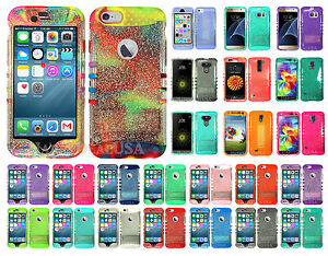 GLITTER-Armor-Shock-Proof-Impact-Hybrid-Soft-Hard-Cover-Case-for-Cell-Phone