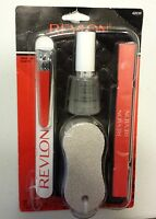 Revlon Pedicure Kit 6 Piece Set Nail File, Pumice Stone, Clippers, Separator