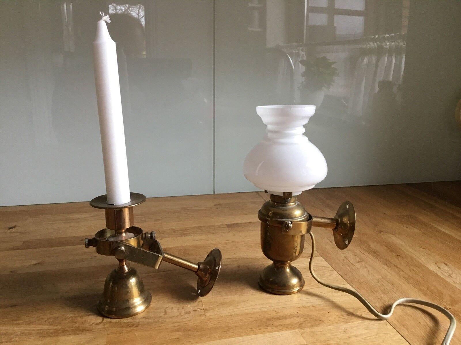 Andet, Maritime væglamper gamle – dba.dk – Køb og Salg af