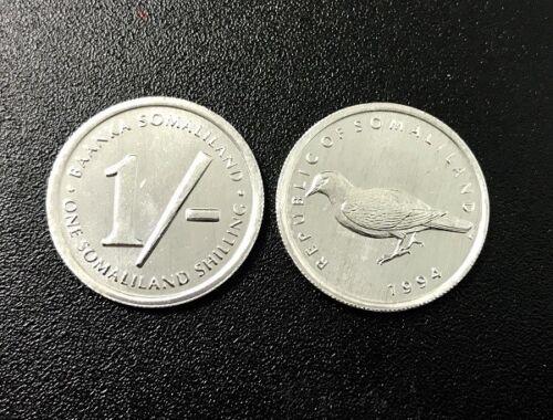 1994 UNC BIRD SOMALILAND 1 SHILLING