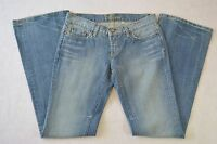 Bebe Carmin Made In The Usa Blue Jeans Sz 29 (30 X 33)