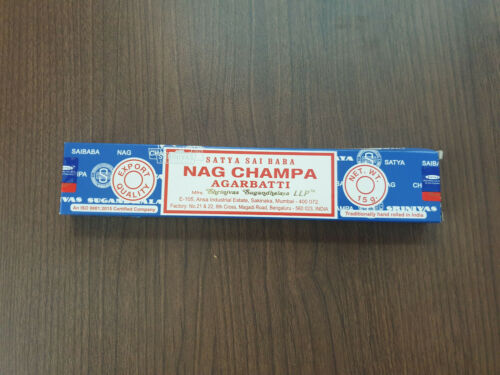FREE SHIPPING Satya Nag Champa Incense Sticks 15gm ~ Buy 7 and get 5 FREE