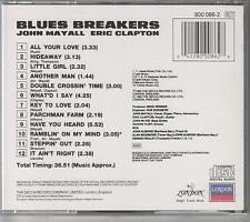 JOHN MAYALL+ ERIC CLAPTON -  Bluesbreakers -Original German CD-FREE UK SHIPPING!