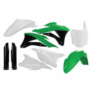 Acerbis Front Number Plate Green For Kawasaki KX 85 100 14-19