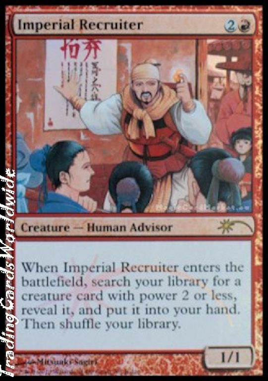 Imperial recruiters    Foil    NM    JR  Promos    Engl.    Magic the Gathering