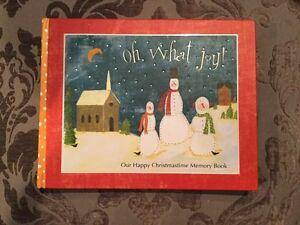 image is loading joyful christmas memories memory book ellie claire scrapbook - Christmas Memories Book