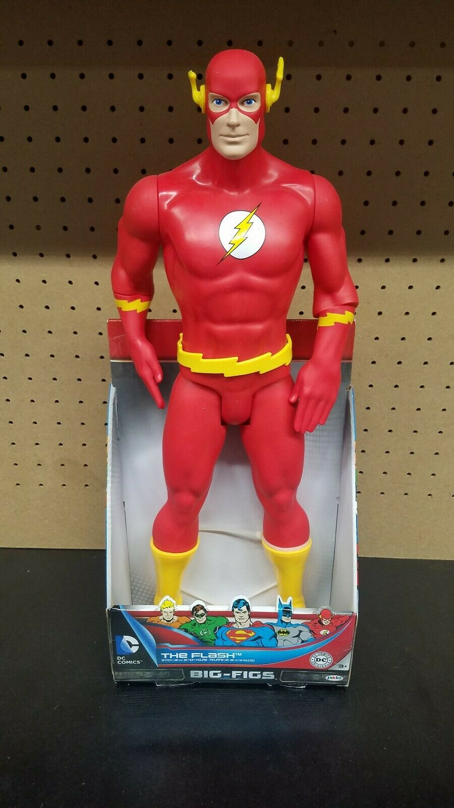 DC Universe gree Figs 19  classeic Flash azione cifra