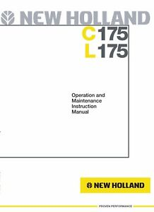 NEW-HOLLAND-C175-COMPACT-TRACK-LOADER-OPERATORS-OPERATION-MAINTENANCE-MANUAL