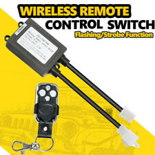 Wireless Remote Control Wiring Harness Kit Strobe Switch For Led Work Light Bar