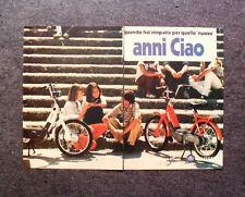 """K713-Advertising Pubblicità-1980- CIAO PIAGGIO , QUELLO """" NUOVO """""""