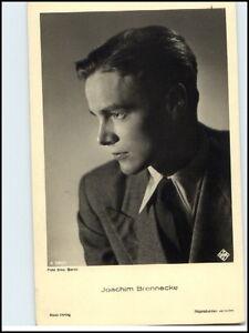 Postkarte-Buehne-Kino-Fernsehen-Ross-Verlag-Actor-Schauspieler-Joachim-Brennecke