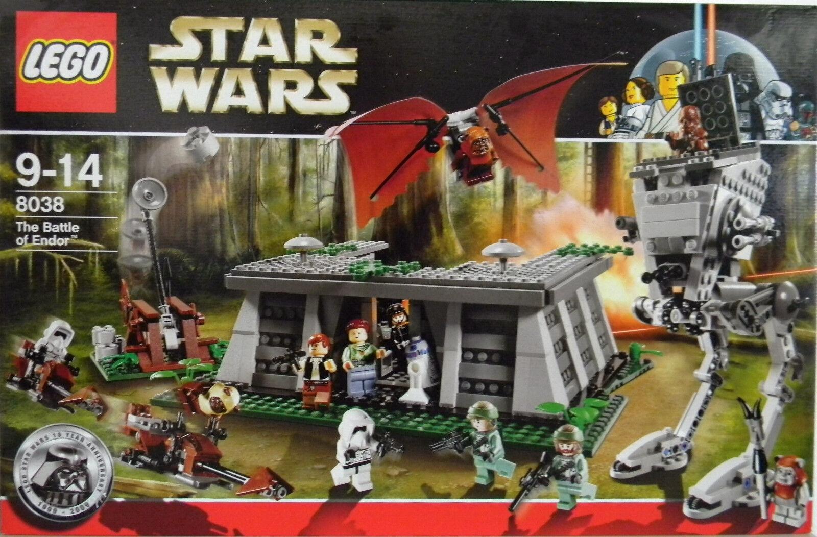LEGO® STAR WARS™ 8038 THE BATTLE OF ENDOR   NEU & ORIGINAL VERPACKT