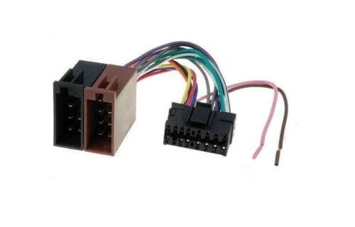 Klemmen & Verkabelung Adapter & Stecker ISO Autoradio Adapter SONY ...