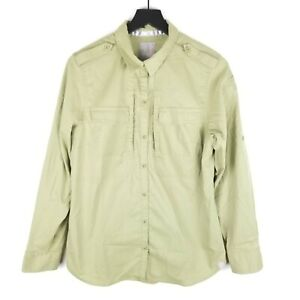 5-11-Tactical-Shirt-Large-Spitfire-Shooting-Mosstone-Long-Slv-Button-Down-Womens