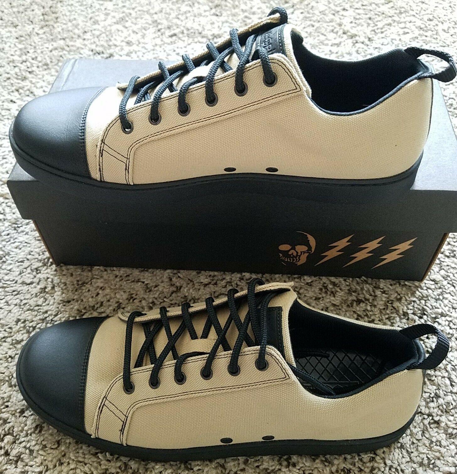 Woobies Sahara MOD-1 Lace Up Athletic Shoes Unisex 11.5 Men / 13Women brown nib
