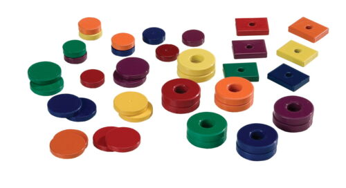 School Specialty Magnet Assortment ... Assorted Sizes and Shapes Set of 40