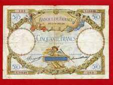 (S 163) 50 FRANCS (LUC OLIVIER MERSON ) 12/10/1933 (TTB-)