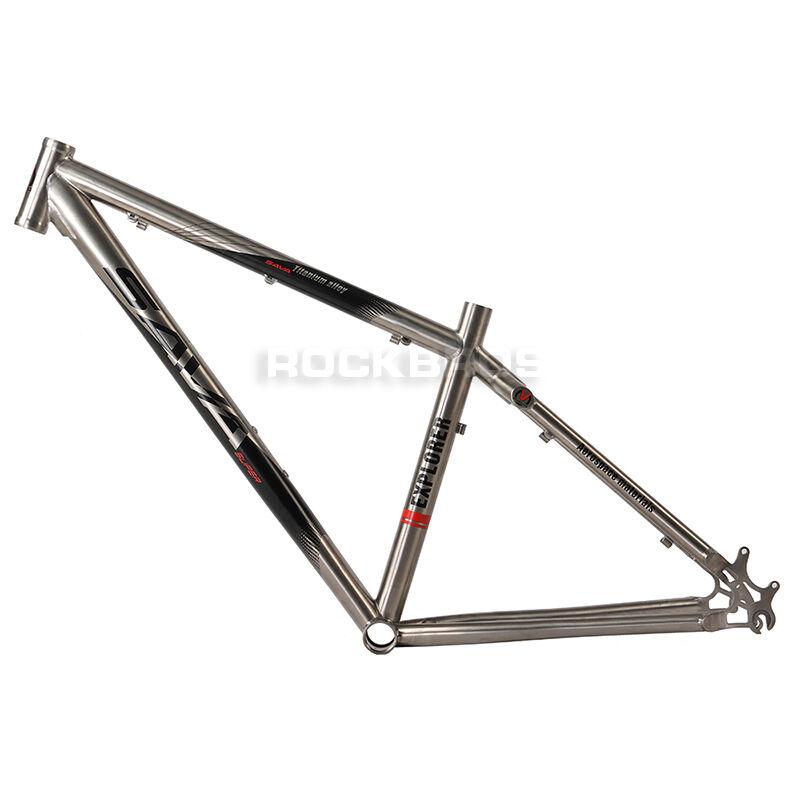 SAVA 27,5 Titanio Bicicletta Telaio 650B TI MOUNTAIN BIKE MTB Frame Dimensione 16