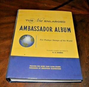 CatalinaStamps-Ambassador-Album-Harris-1960-800-Stamps