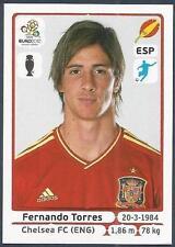 PANINI EURO 2012- #305-ESPANA-SPAIN-CHELSEA-LIVERPOOL-FERNANDO TORRES