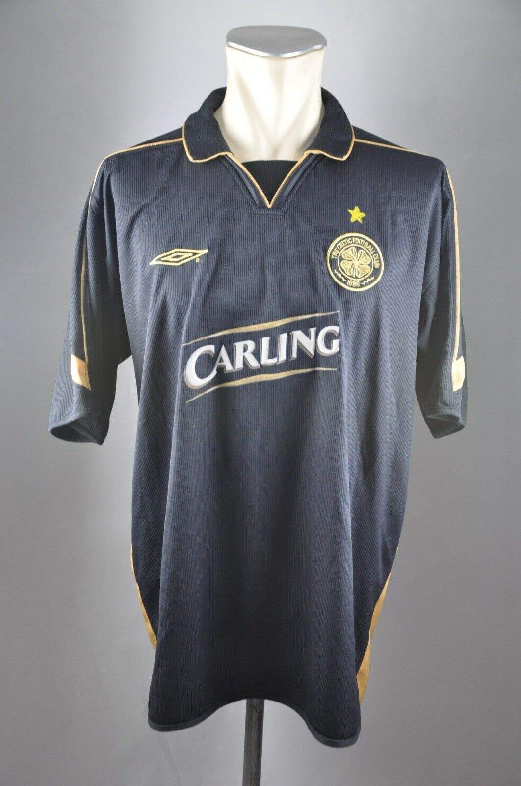 Celtic Football Club Glasgow Gr. XL XL XL 2003-04  Trikot Umbro Jersey Carling Away bfc44f