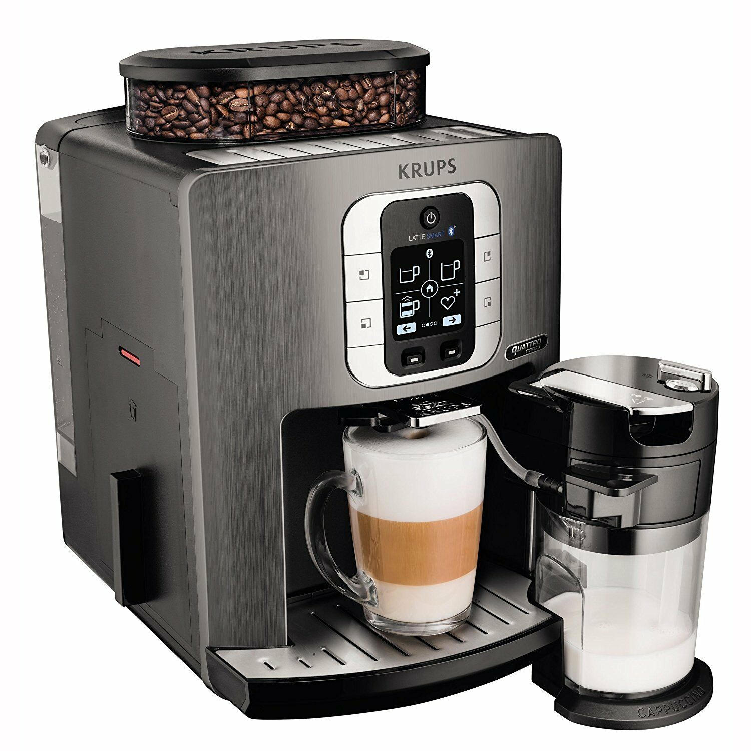 krups ea860e one touch automatic espresso machine smart. Black Bedroom Furniture Sets. Home Design Ideas