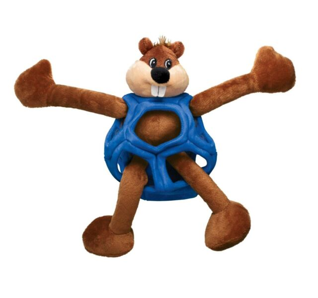 KONG Puzzlements 3 Toys in 1 Beaver Dog Toy