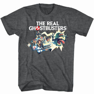 Mens Ghostbusters Ecto-1 Shirt New LT