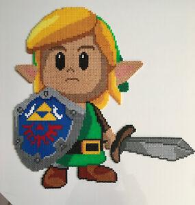 Details Sur Pixel Art Perles A Repasser Zelda Link S Awakening