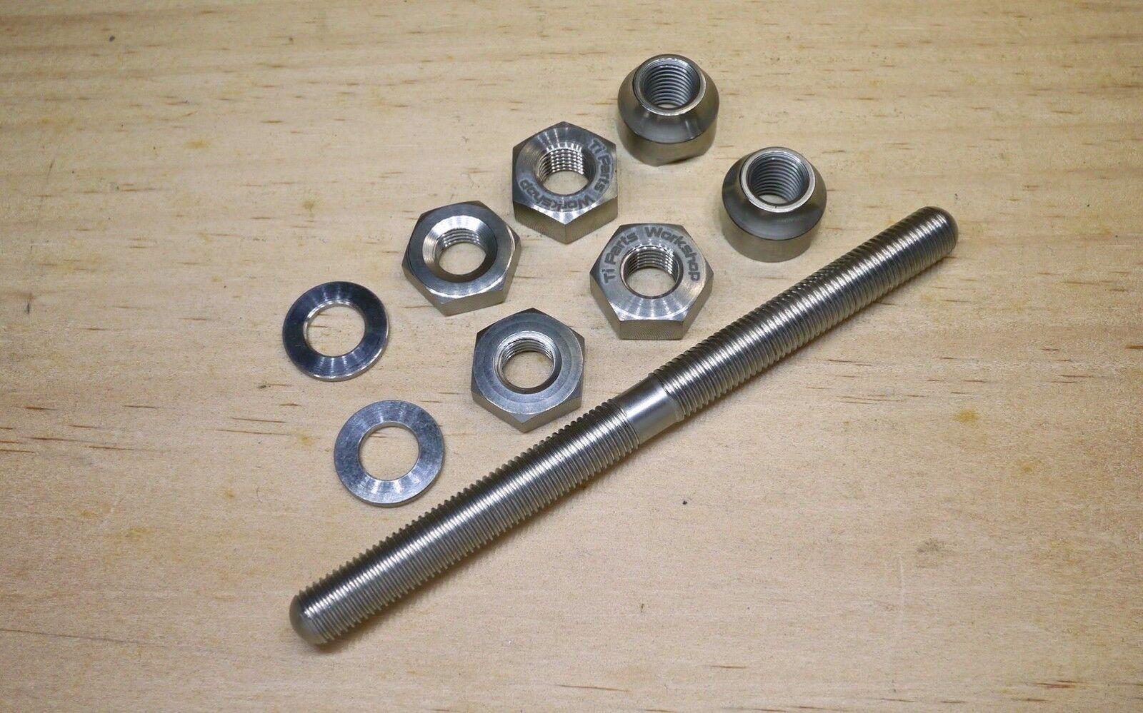 Ti Parts Workshop Titanium Front Axle for Brompton Hubs BTP-30