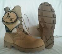 Military Altama 5852 Desert Tan Vulcanized Combat Boots Mens Size 3 - 7