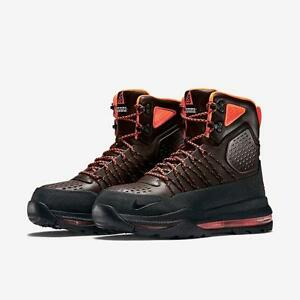 c7a74c4dc3dd NIKE ACG ZOOM SUPERDOME 654886 206 BROWN BLACK-HYPER CRIMSON ORANGE ...