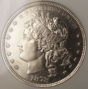 1878 Proof Silver 1 Goloid Metric Dollar Pattern Coin J