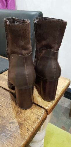 Brown Ankle 38 5 Leather Boots Eu Uk Madden 5 5 Size Steve 45x8v7wqz