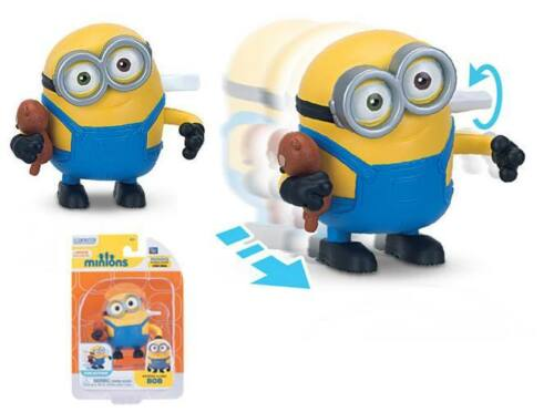Film minions vent action punchingball along rapide running bob méprisable me toy 20135