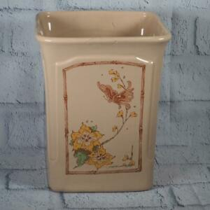 Vintage Royal Haeger Large Pottery Planter Vase Mid Century Floral Design