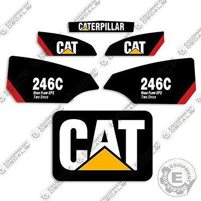 Caterpillar 279C 2-Speed Decal Kit