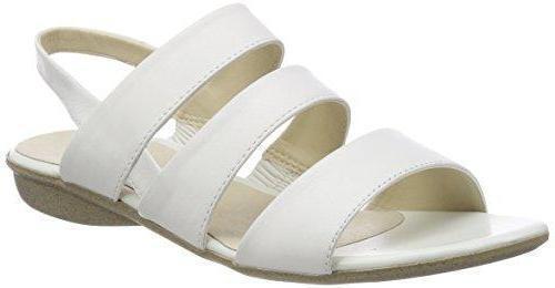 NEW Josef Seibel Fabia 11 Sandal, White Leather, Women Size 42 (11 US)  130
