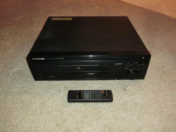 Doelstelling Pioneer Cld-900s Laserdisc / Ld Player, Inkl. Fernbedienung, 2j. Garantie